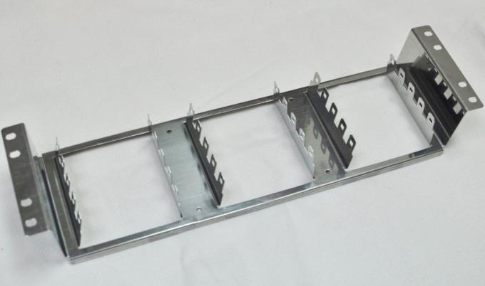 "19"" Recessed Krone Back Mount Frame Silver Color For Telephone Mounting"