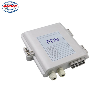 China 8 core Wall Mount Fiber Distribution Box with PLC splitter waterproof outdoor FAT Box supplier