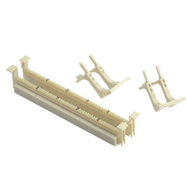 50 Pair 110 Block Patch Panel , Wall Mounted 110 Wiring Block With Legs
