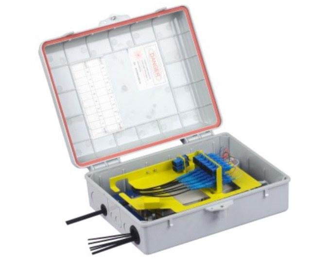 24 Core Waterproof Junction Box , Insert Type Splitter