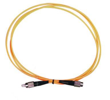 Durable SM / MM FC FC Patch Cord , 2M 3M Corning Fiber Optic Jumper