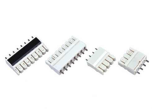 4 PIN 3.81mm PCB - IDC 110 IDC Connector , White 110 Punch Down Block