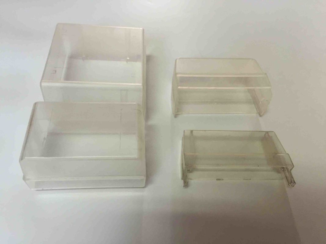 Small PC 50 Pairs Dust Proof Box Plastic Transparent For Back Mount Frame