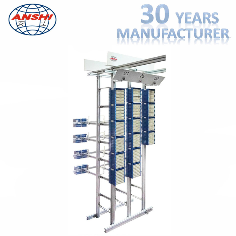 Modular MDF Distribution Frame High Density Double Sided Full Front Operation