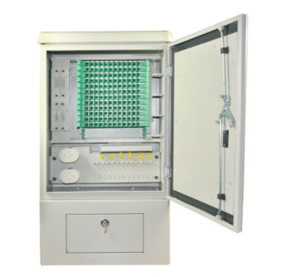 SMC Material Optical Termination Box , 144 Cores SMC Cross Connect Cabinet
