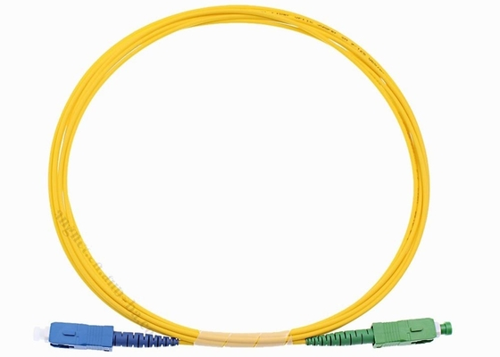 12 Cores Fiber Optic Jumper Cables SC / UPC 1.5 Meter Fiber Optic Pigtail