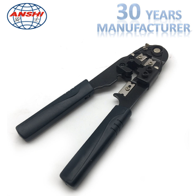 China Black Network Crimp Striping Cut Tool ABS Material For Cable Striper factory