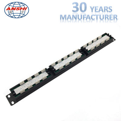 ANSHI 25 Ports RJ11 Krone IDC patch panel