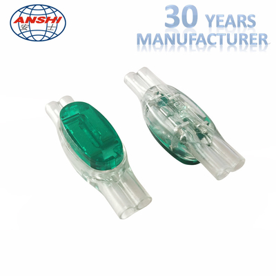China HJKT8 3m Scotchlok Wire Connectors 0.9-1.3 Green Lock Joint Connector 8 factory