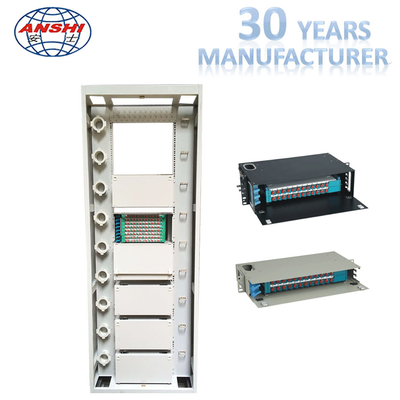 Compact Structure Fiber Distribution Box Integrated Network Fiber Optic Cabinet
