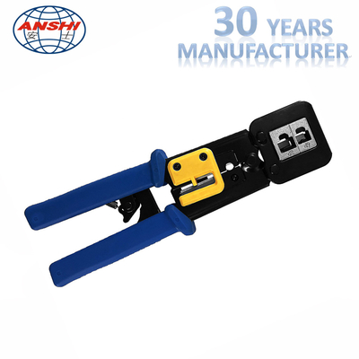 China 8P6P Network Punch Down Tool Modular Crimping Plier EZ RJ45 SGS Certification factory